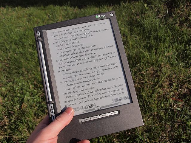 elektronická čtečka